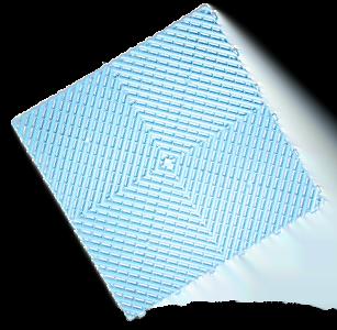 polydal dalle damier bleu classic