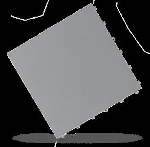 dalle esprit pierre gris alu Polydal