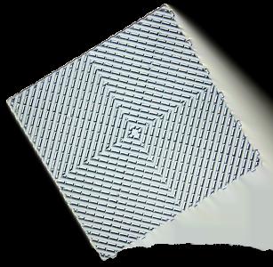 polydal dalle damier gris clair bleuté