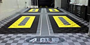 personnalisation sol garage