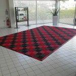 dalles tapis de sol