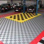 dalle de sol pour atelier auto