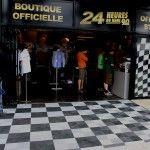 revetement sol boutique 24h du Mans