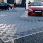 Stand Audi, sol evenementiel polydal