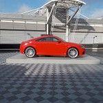 Sol evenementiel Polydal : exposition Audi