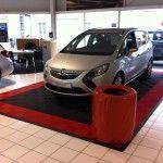 tapis de sol showroom Opel