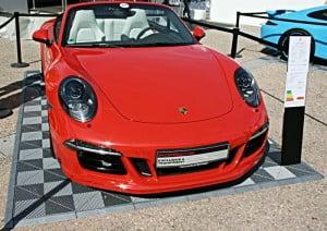 dalles de sol Polydal pour un événement Porsche