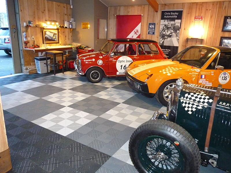 garage voiture collection