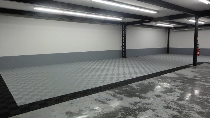 Resine sol garage particulier awesome revtements de sols for Garage bosch metz