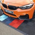 dalles de sol Polydal BMW orange