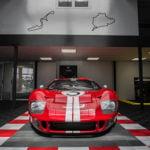dalles de sol Polydal Le Mans auto racing ford GT