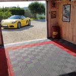 dalles de sol Polydal garage privé