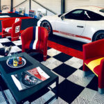 dalles_de_sol_Polydal_garage_salon_porsche