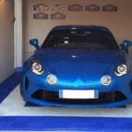dalles de sol Polydal garage privé Alpine A110