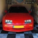 dalles de sol Polydal garage privé Alpine
