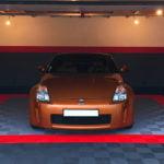dalles de sol Polydal garage Nissan