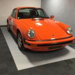 dalles de sol ajourées Polydal Porsche classic