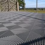 dalles de sol drainantes Polydal pour terrasse extérieure