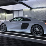 dalles de sol Polydal showroom audi R8