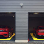 dalles de sol Polydal double garage Ferrari