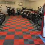 sol dalles Polydal garage collection motos