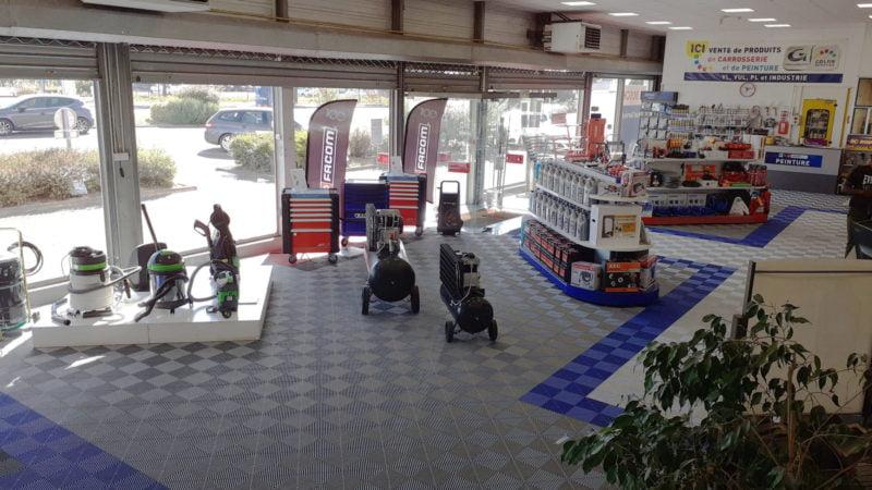 magasin de dalles de sol Polydal