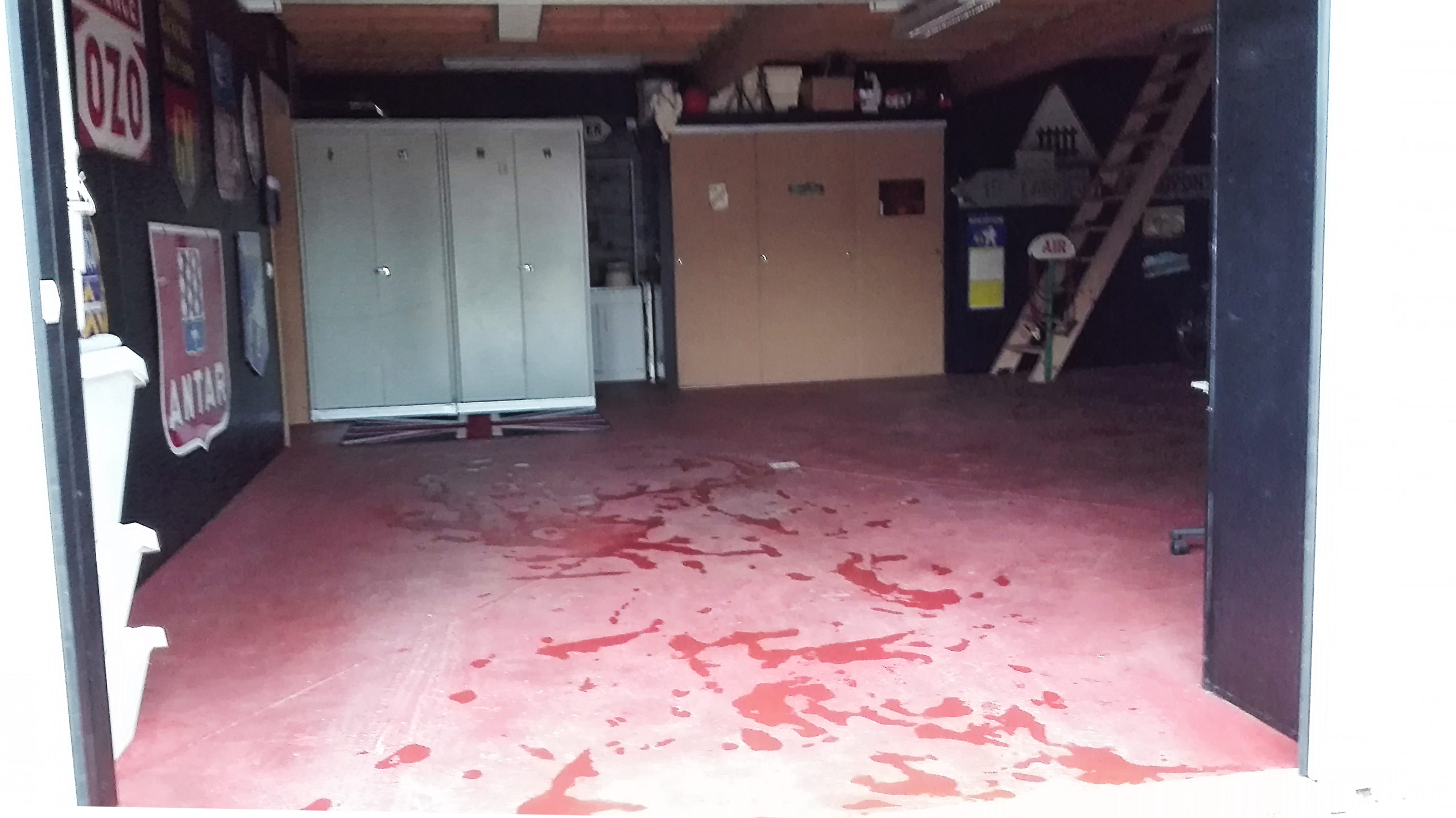 sol garage avant pose dalles Polydal
