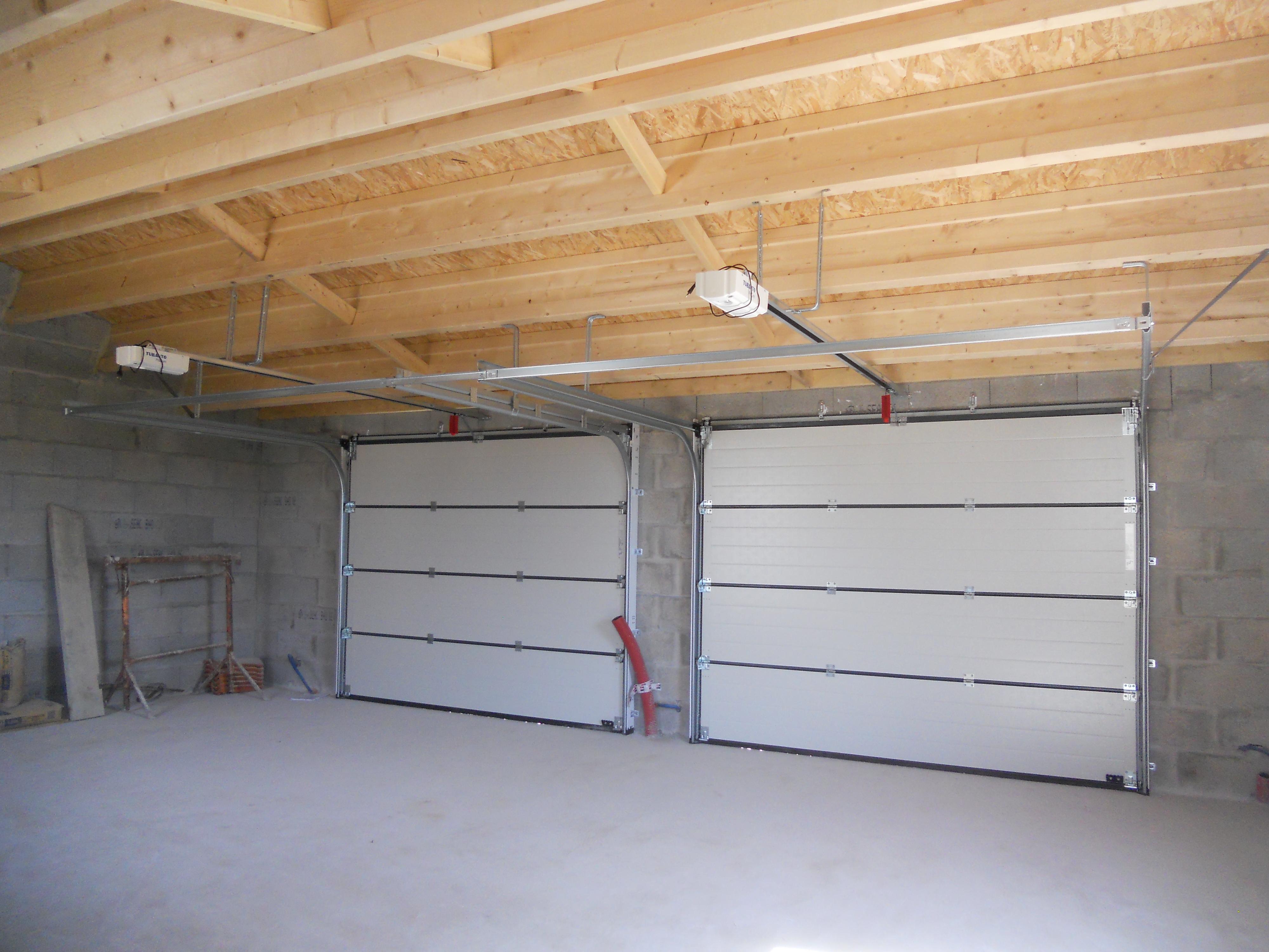 sol de garage avant pose dalles Polydal