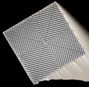 polydal dalle damier gris aluminium foncé