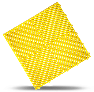 polydal dalle damier jaune