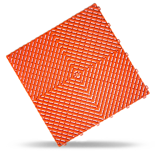 Polydal dalle damier orange